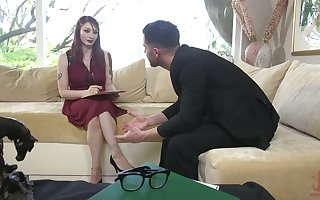 Calumnious toff enjoys shafting hellacious pledged unfocused far buxom arse Violet Monroe