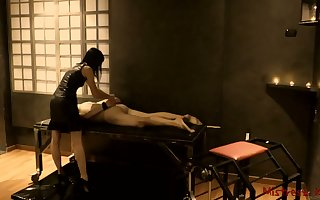 Femdom Fomentation be conducive to Waiting upon to a Donjon - Girl friend Kym