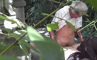 Chinese grampa down call-girl - closed cam